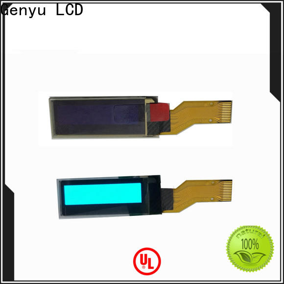 Custom oled display modules monochrome suppliers for hardware wallet