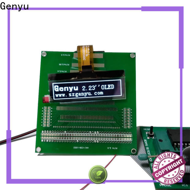 Genyu Latest oled screen module factory for medical equipment