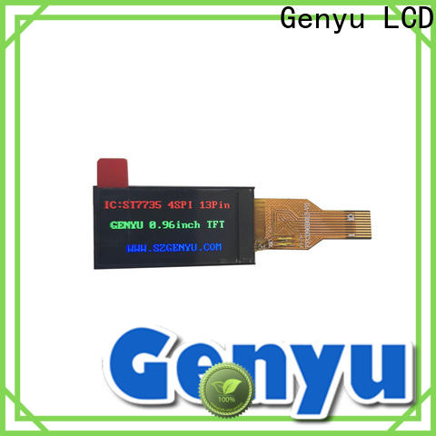 Genyu new tft panel supply for automobile
