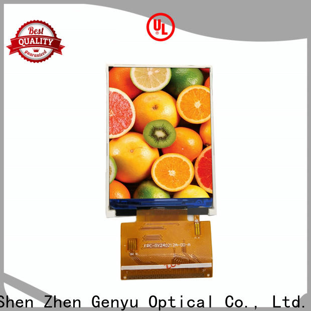 Genyu Custom tft lcd displays for business for automobile