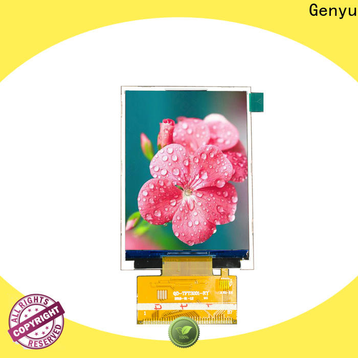 Genyu price-favorable tft lcd display supply for devices