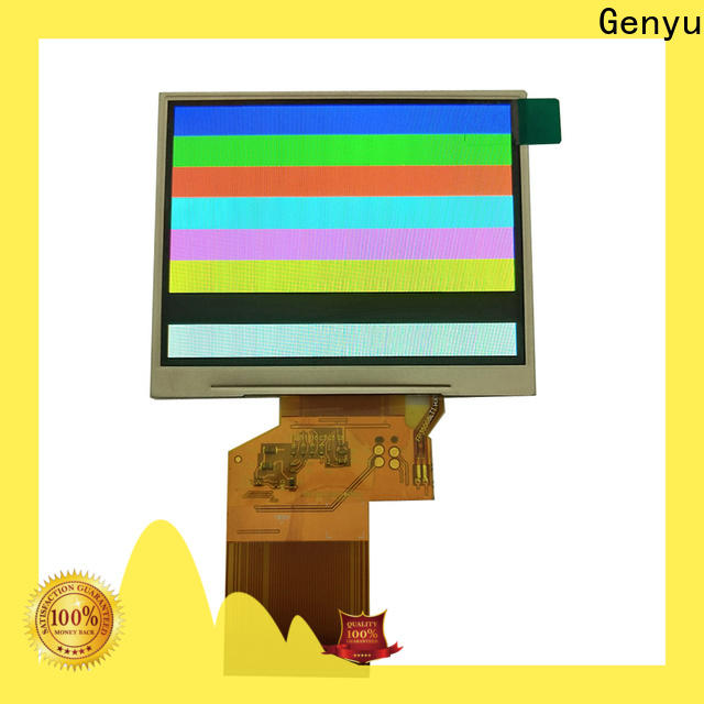 Genyu price-favorable tft lcd displays factory for automobile