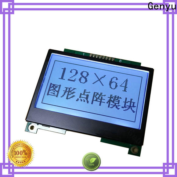 Genyu 160x32 lcm-lcd display supply for electronic products