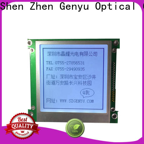 Genyu dot lcm module manufacturers for instruments panels