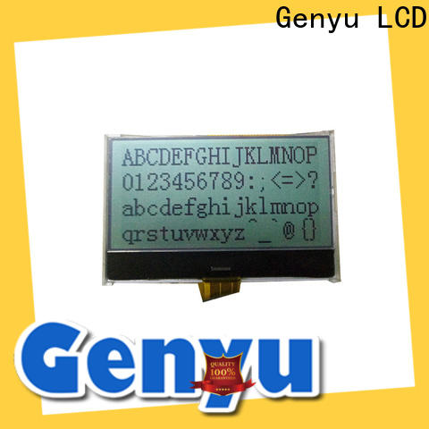 Genyu 122x32 micro lcd display manufacturers for industry