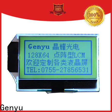 Custom graphics lcd modules genyu supply for equipment