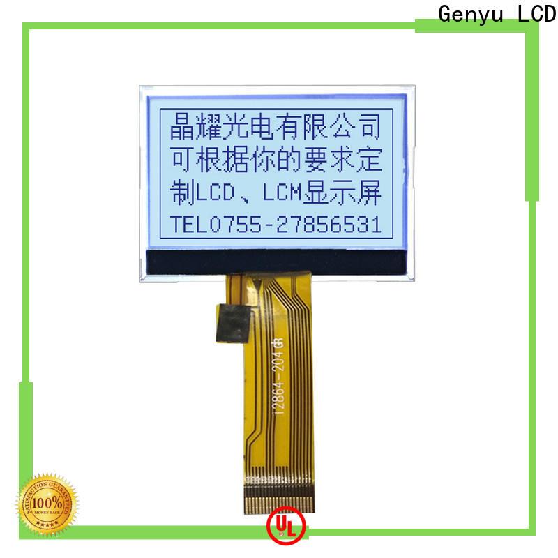 Genyu Custom graphic lcd 128x64 company for industry