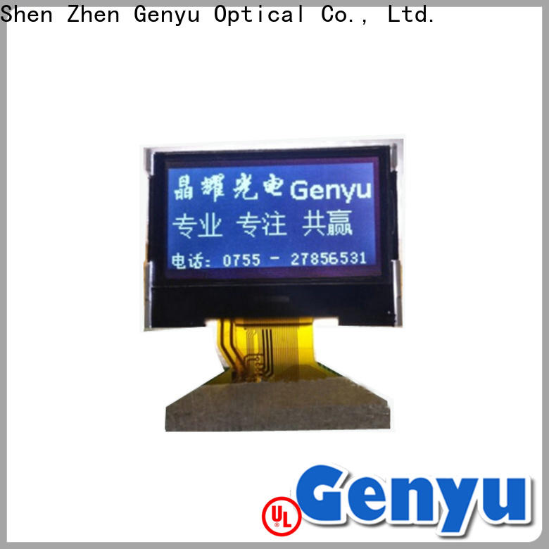 New dot matrix lcd screen yellow for business for smart home