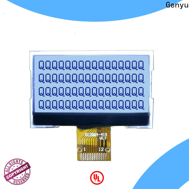 Genyu Latest dot matrix lcd screen factory for industry