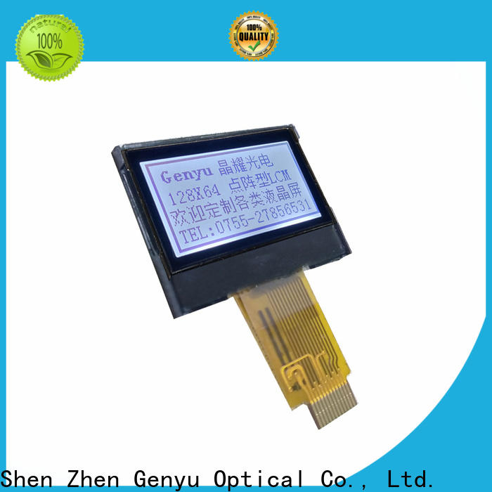 Genyu Latest 12864 lcd display supply for smart home