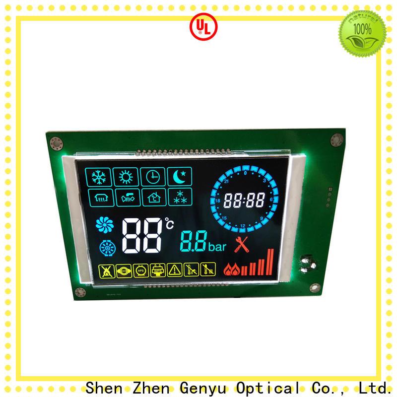 Genyu customized 12864 lcd display company for smart home