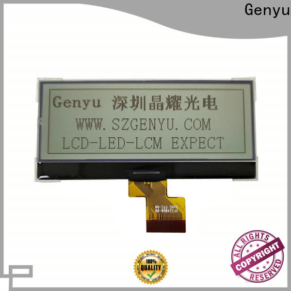 Genyu Latest 12864 lcd factory for equipment