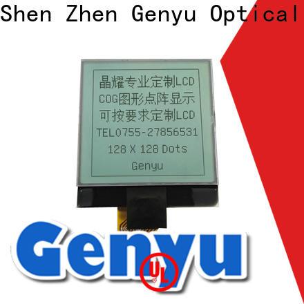 Genyu Custom 12864 lcd factory for equipment
