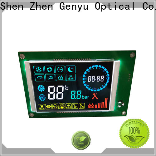 Top segment lcd screen cob company for instrumentation