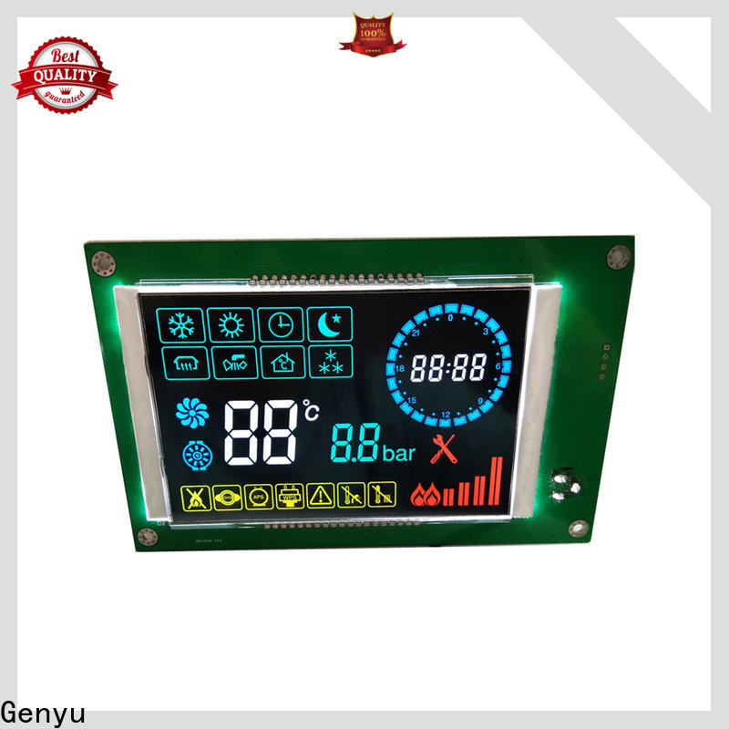 Genyu screen lcd display custom supply for home appliances