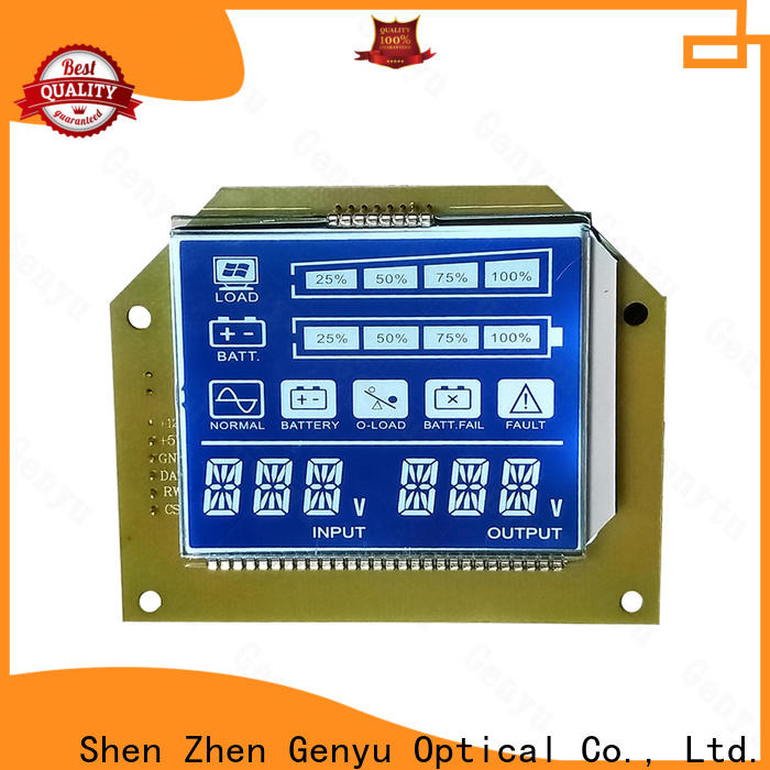 Genyu gy8812899 custom lcd screen for home appliances