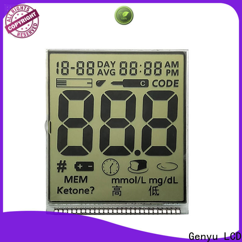 Custom custom lcd screen gy50378a suppliers for meter