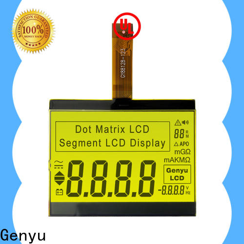 Genyu meter lcd segment manufacturers for meters