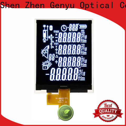 Genyu electricity segment lcd factory for electronic