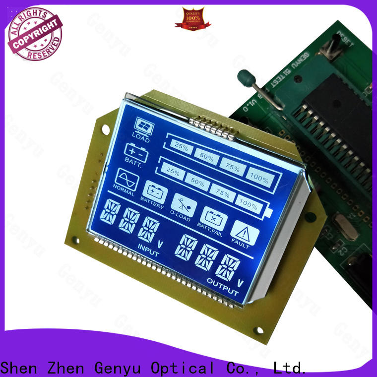 Genyu gy8812880 custom size lcd suppliers for home appliances