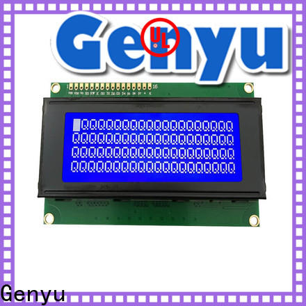 Genyu gy1602c5ax229 character lcd display factory for equipment
