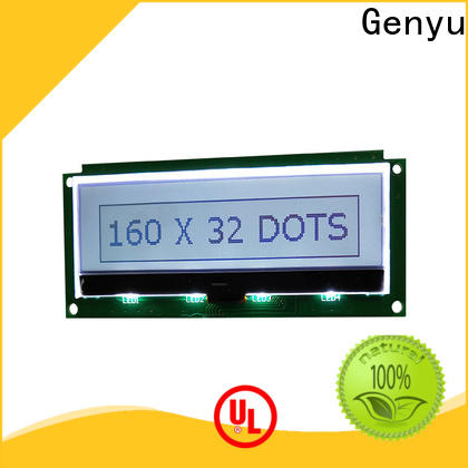 Genyu dot lcm lcd suppliers for instruments panels