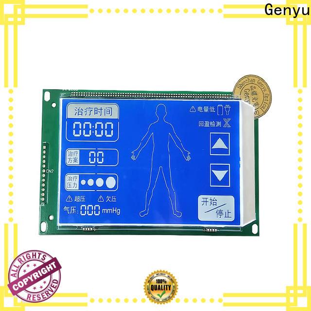 Genyu gy03836nm segment lcd module manufacturers for instrumentation