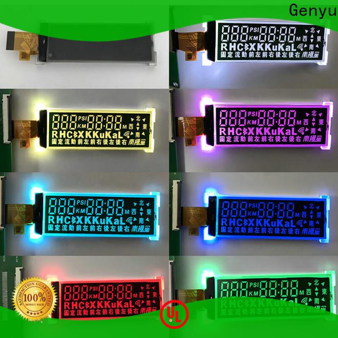 Custom segment lcd display va supply for home appliances