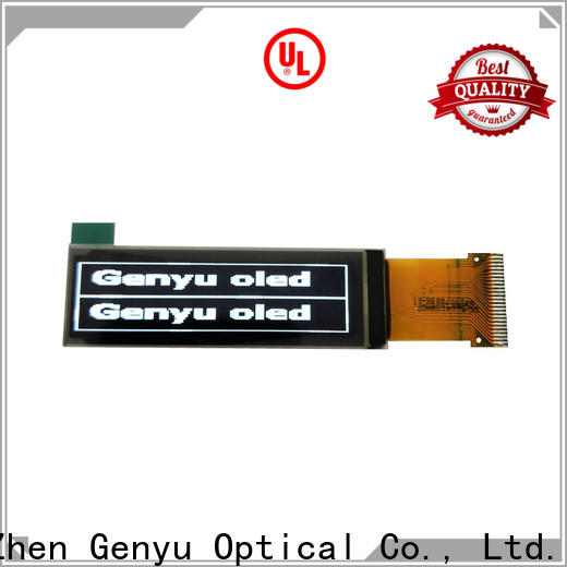 Genyu Latest oled transparent display supply for medical equipment