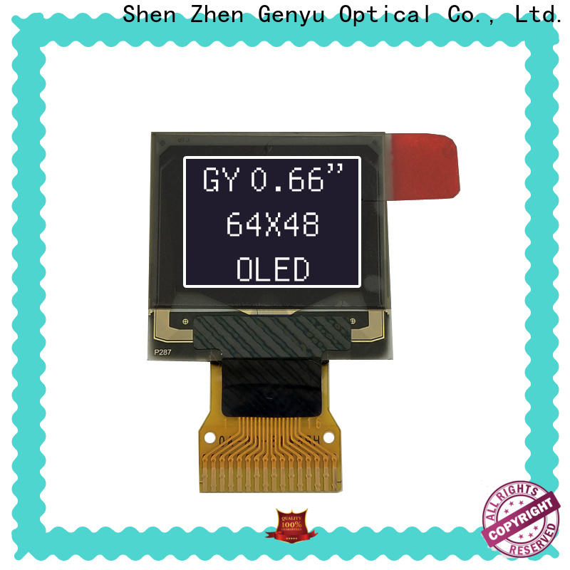 Genyu New lcd oled display suppliers for hardware wallet