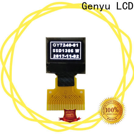 Genyu Latest oled screen display for hardware wallet