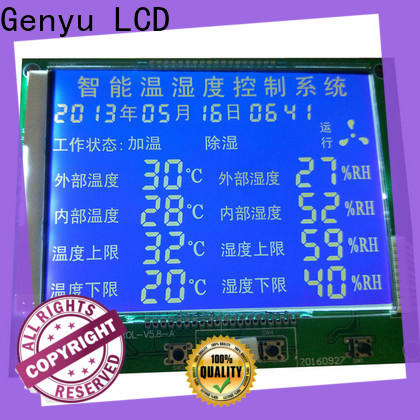 Top custom size lcd gy1149 for home appliances