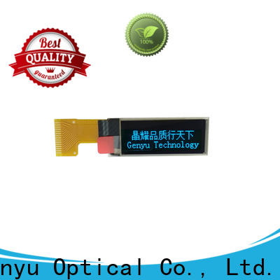 Genyu matrix lcd oled display suppliers for hardware wallet