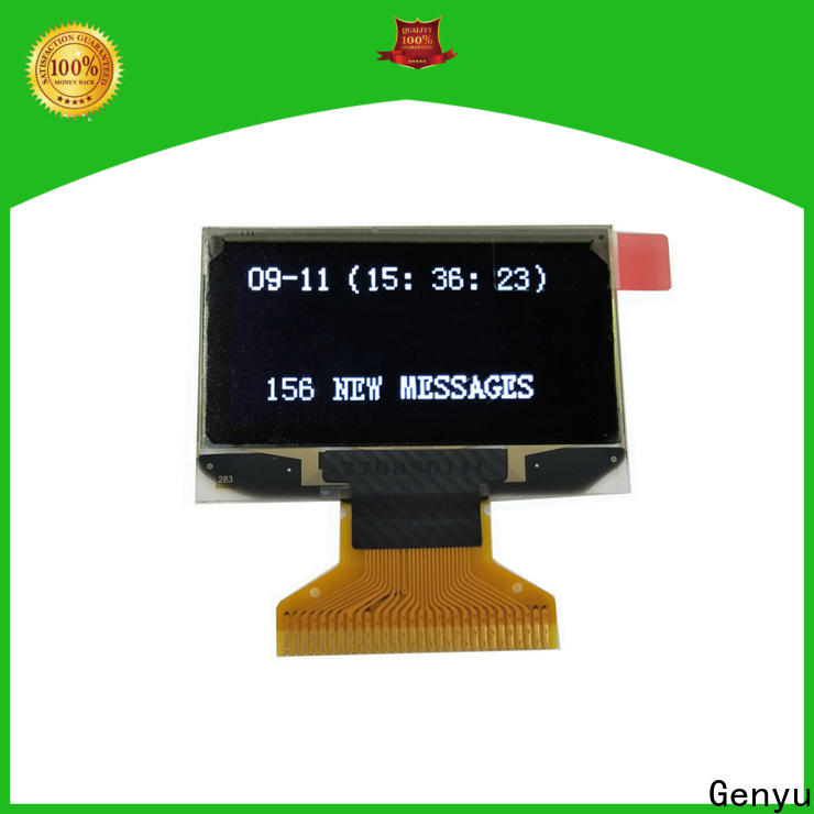 Genyu New oled screen display suppliers for medical equipment