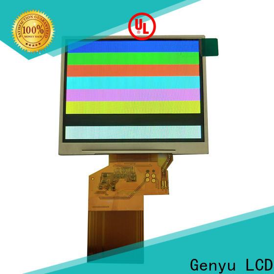 Genyu Custom tft lcd display suppliers for equipments