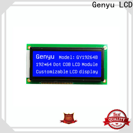 Genyu blueyellowgreen lcd lcd display manufacturers for medical equipment
