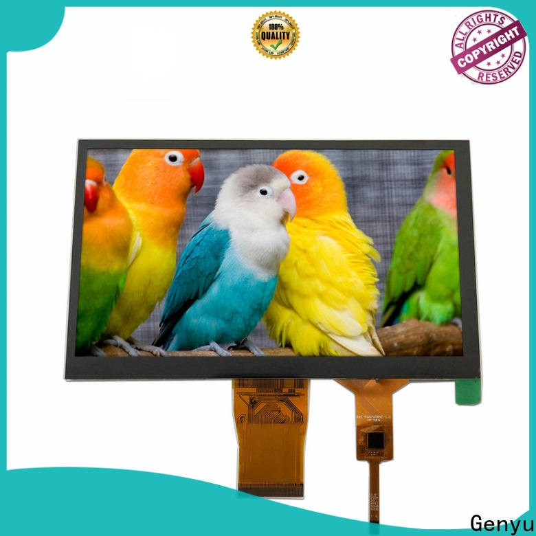 Genyu new tft lcd displays for business for equipments