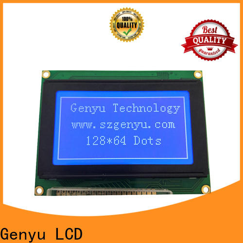 Genyu 128x64 lcm display supply for electronic products
