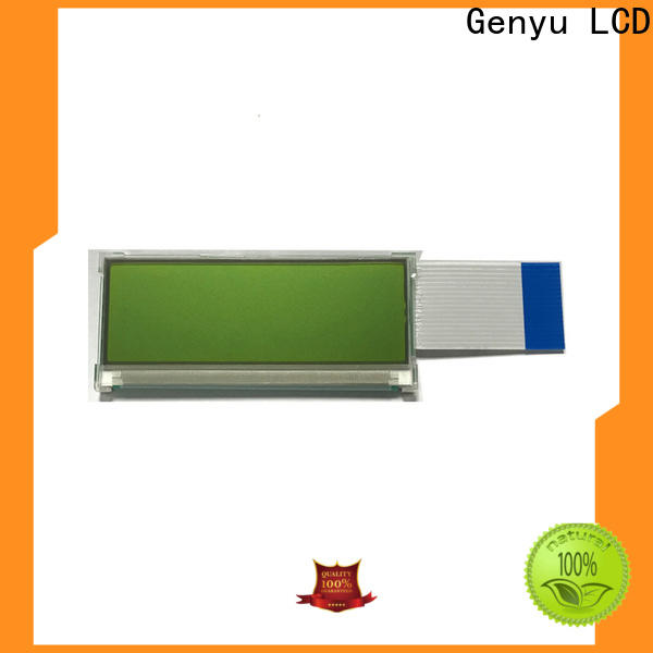 Genyu green graphic lcd display company for smart home