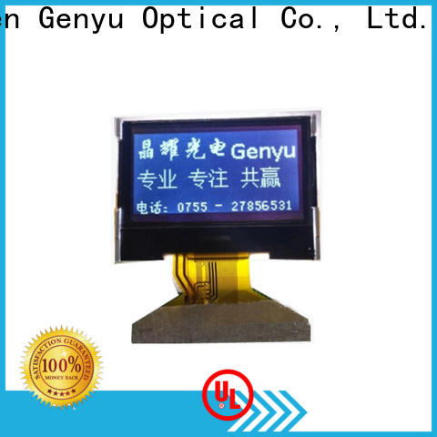 Genyu New graphic lcd display factory for smart home