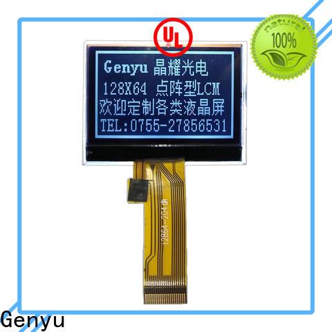 Genyu New dot matrix lcd display module suppliers for equipment