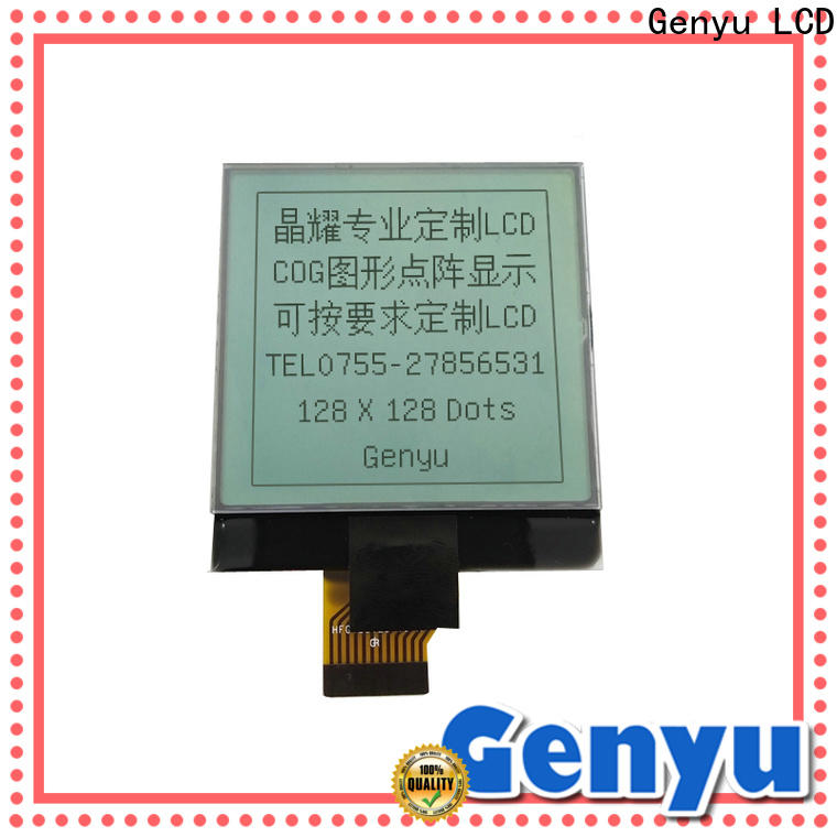 Genyu touch mono lcd display factory for smart home