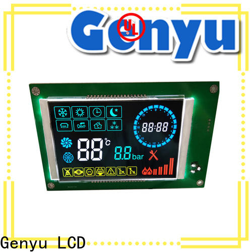 Genyu lcm 7-segment lcd suppliers for instrumentation