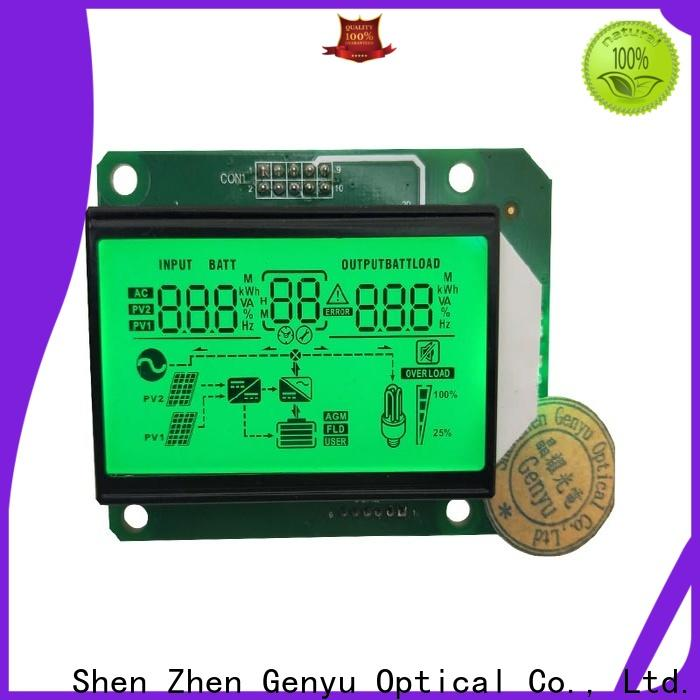 Genyu gy8812880 custom size lcd company for instrumentation