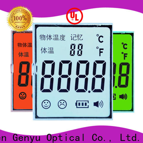 Genyu display lcd display custom manufacturers for instrumentation