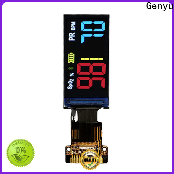 Genyu New tft lcd display company for devices