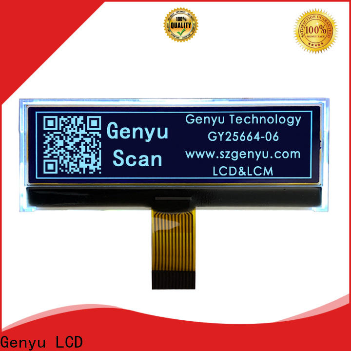 Genyu New 12832 lcd display factory for industry