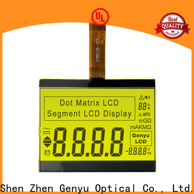 Genyu meter lcd display segment company for household appliances