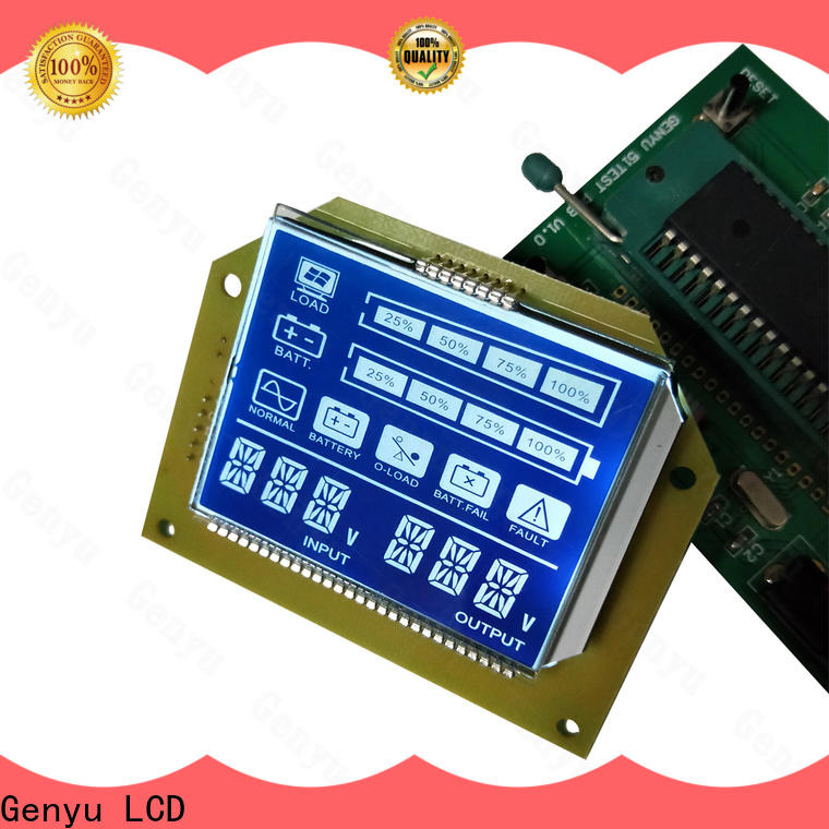Genyu Best 7-segment lcd manufacturers for POS