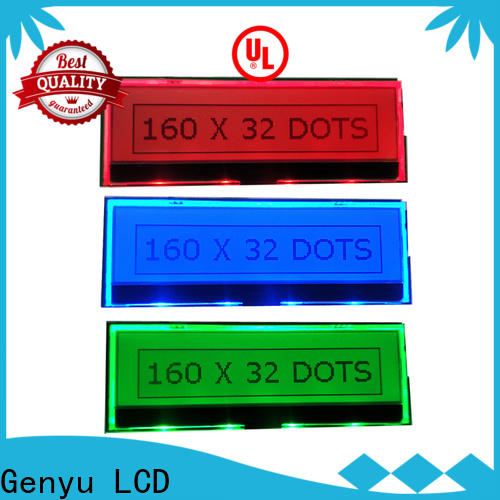 Genyu Custom lcm lcd display company for electronic products